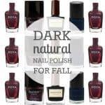 Dark Natural Nail Polish For Fall