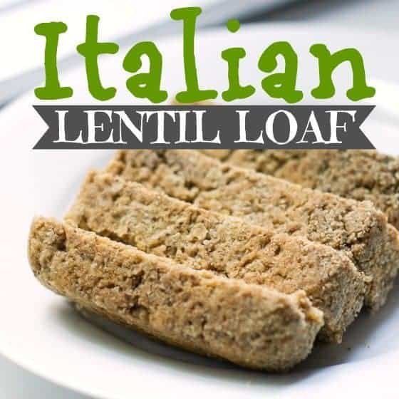 Italian Lentil Loaf