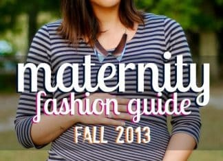 Maternity Fashion Guide: Fall 2013