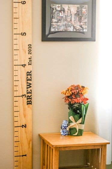 DIY Growth Chart Ruler 3 Daily Mom Parents Portal