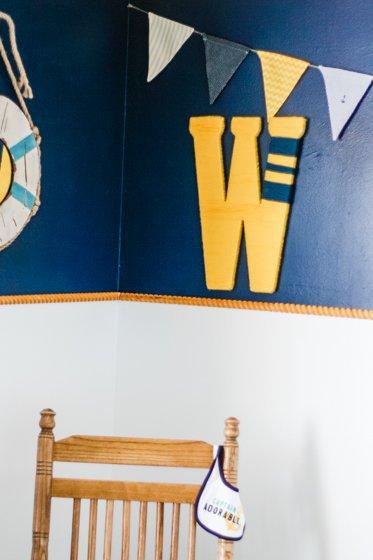 DIY Yarn Wrapped Monogram Wall Decor 3 Daily Mom Parents Portal