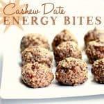 Cashew Date Energy Bites