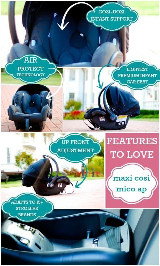Car Seat Guide: Maxi Cosi Mico AP 9 Daily Mom Parents Portal