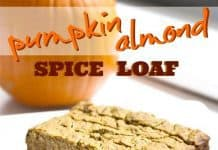 Pumpkin Almond Spice Loaf