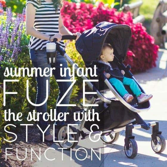 Stroller Guide: Fuze By Summer Infant