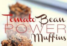 Tomato Bean Power Muffins