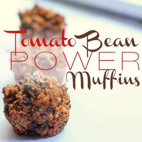 Tomato Bean Power Muffins