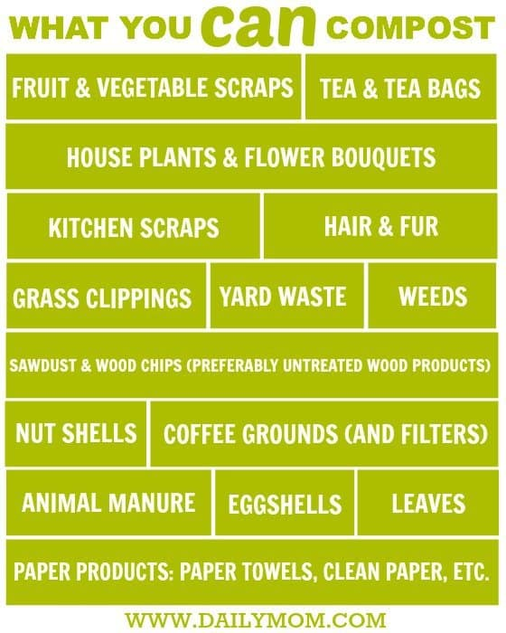 The Dos and Don'ts Of Composting 2 Daily Mom Parents Portal