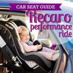 Car Seat Guide: Recaro Performance Ride