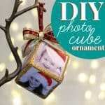 Diy Photo Cube Ornament 1
