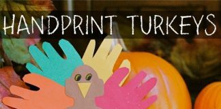 Hand Print Turkeys A Thanksgiving Family Tradition
