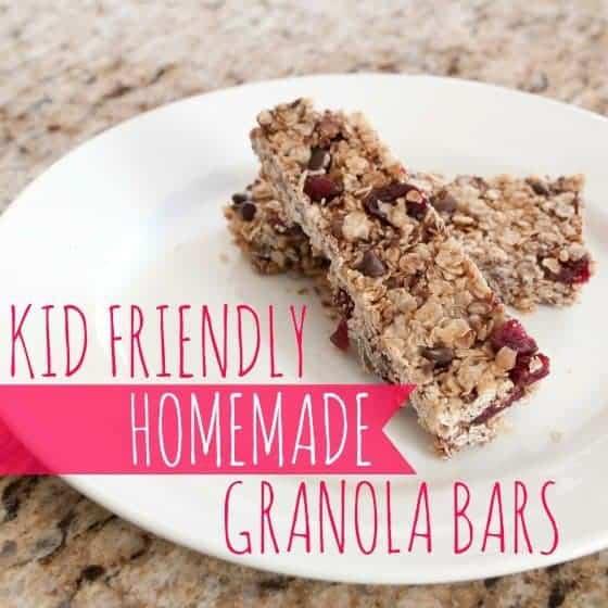 Kid-Friendly Homemade Granola Bars » Daily Mom