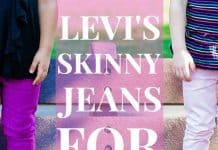 Levis Skinny Jeans For Girls 1 Of 1