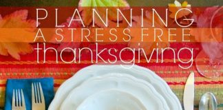 Planning For A Stress Free Thanksgiving 1