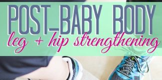 Post Baby Body Hip And Leg Stregthening1