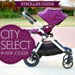 Stroller Guide: City Select By Baby Jogger
