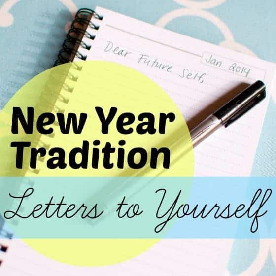 New Year Tradition Letters To Yourself 1