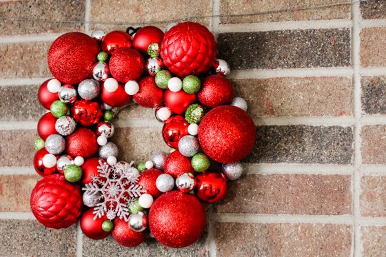 Craft Your Own Christmas Ornament Wreath 2 Daily Mom Parents Portal