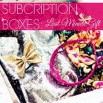 Subscription Boxes Last Minute Gift