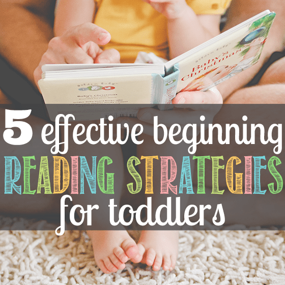 5 Effective Beginning Reading Strategies for Toddlers 1 Daily Mom Parents Portal
