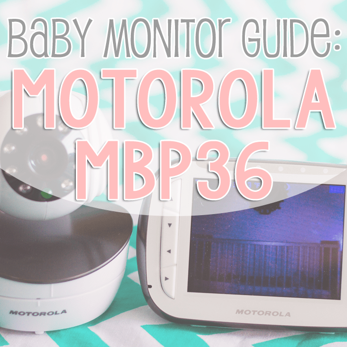 Baby Monitor Guide: Motorola MBP36 1 Daily Mom Parents Portal