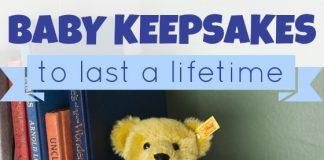 Baby Keepsakes To Last A Lifetime