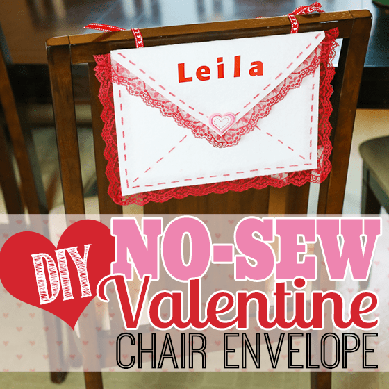DIY No-Sew Valentine Chair Envelope 1 Daily Mom Parents Portal