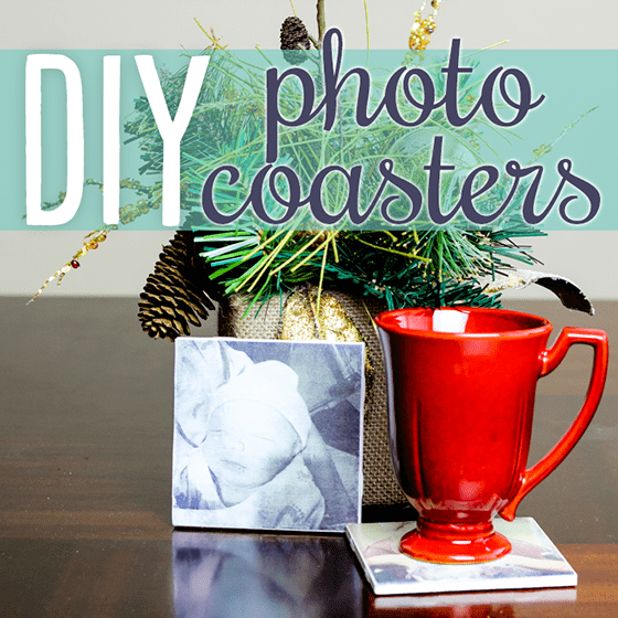 DIY Photo Coasters 1 Daily Mom Parents Portal