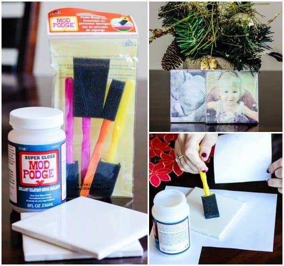 DIY Photo Coasters 2 Daily Mom Parents Portal