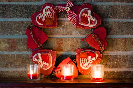 DIY Valentine's Day Decor 2 Daily Mom Parents Portal