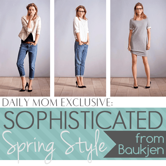 Daily Mom Exclusive: Sophisticated Spring Style From Baukjen
