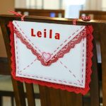 Diy No-sew Valentine Chair Envelope