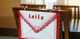 Diy No-sew Valentine Chair Envelope