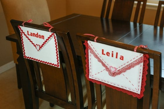 DIY No-Sew Valentine Chair Envelope 2 Daily Mom Parents Portal