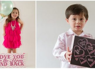 Fun & Easy Valentine's Day Photoshoots To Do With Your Kids