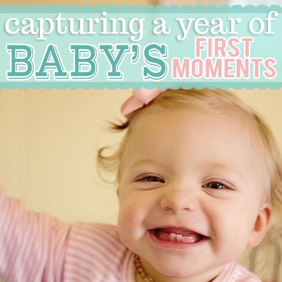Capturing a Year of Baby's First Moments 1 Daily Mom Parents Portal