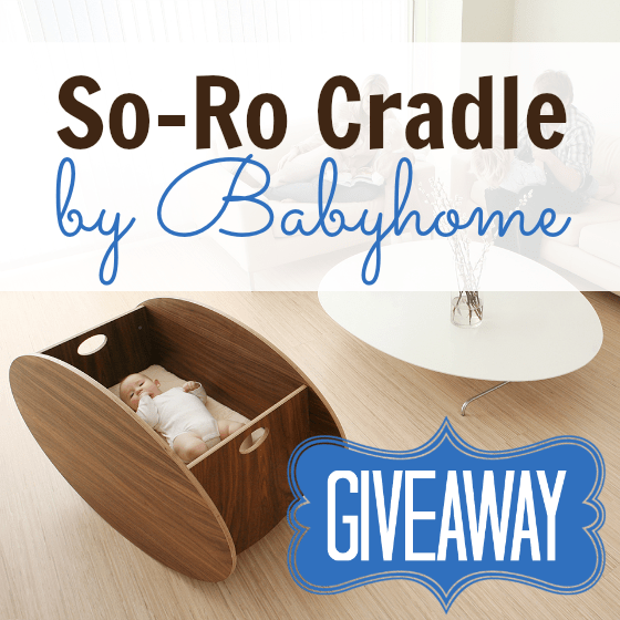 Introducing the So-Ro Cradle by Babyhome + Giveaway 1 Daily Mom Parents Portal