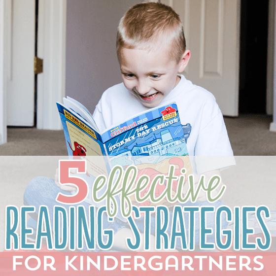 5 Effective Reading Strategies for Kindergartners