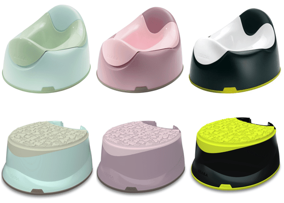 BÉaba Takes On Toddlers With New Accessories: Potties + Step Stools