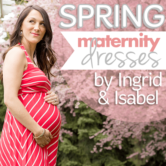 Spring Maternity Dresses by Ingrid & Isabel 1 Daily Mom Parents Portal