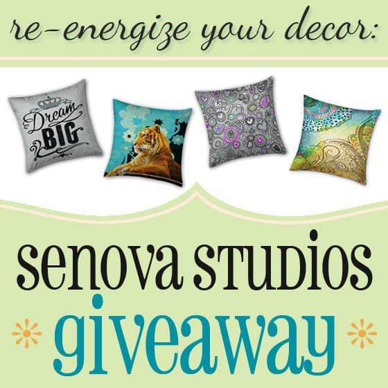 Re-energize Your Decor: Senova Studios Giveaway 1 Daily Mom Parents Portal