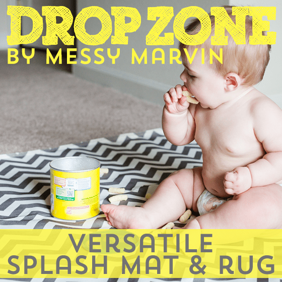 Drop Zone by Messy Marvin: Versatile Splash Mat & Rug 1 Daily Mom Parents Portal