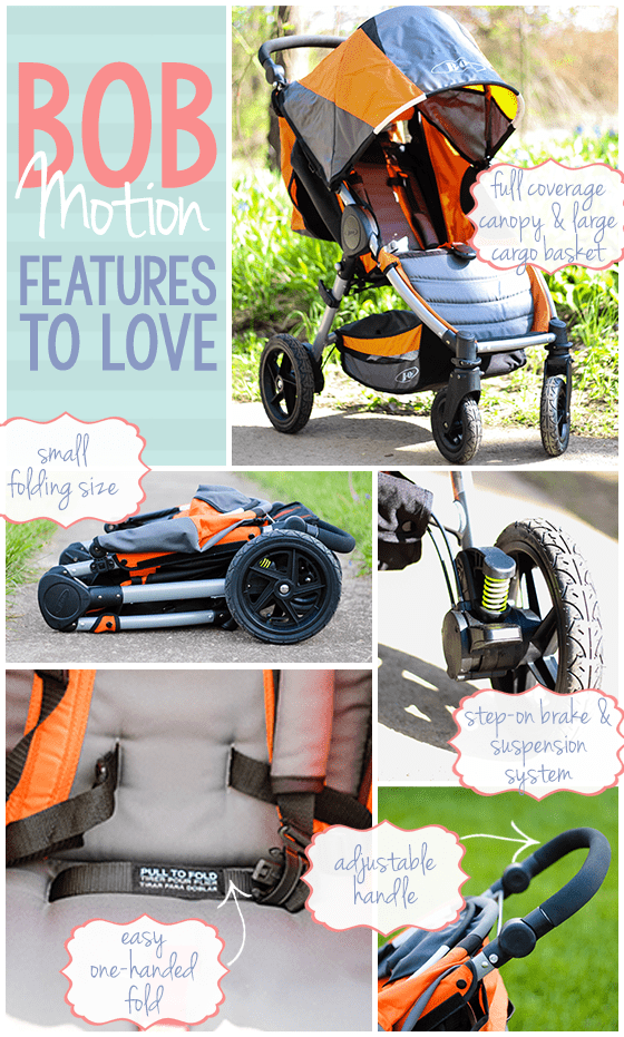 Stroller Guide: BOB Motion 5 Daily Mom Parents Portal