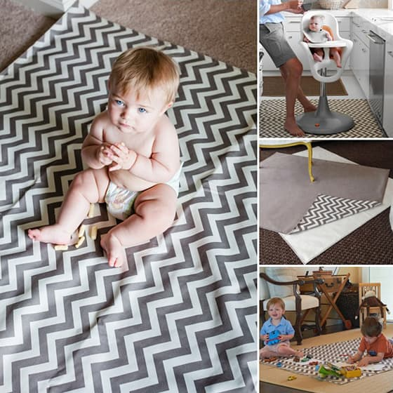 Drop Zone by Messy Marvin: Versatile Splash Mat & Rug 4 Daily Mom Parents Portal