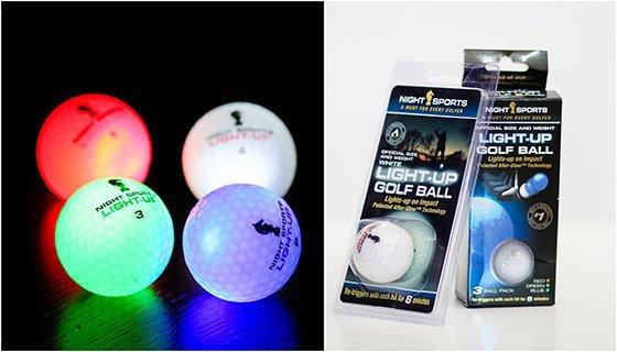 Golf ball collage