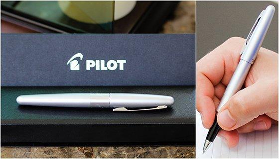 Pilot pen collage