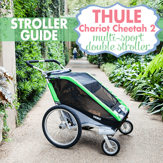 Stroller Guide: Thule Chariot Cheetah 2 Multi-sport Double Stroller 1 Daily Mom Parents Portal