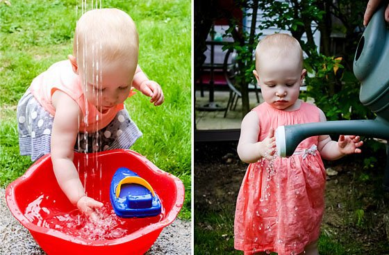 Water Play Collage