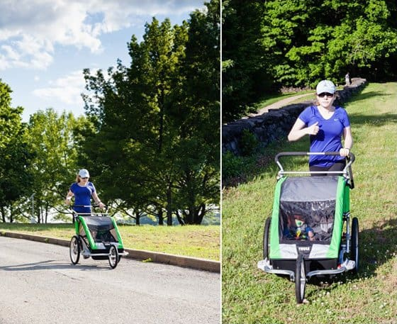 Stroller Guide: Thule Chariot Cheetah 2 Multi-sport Double Stroller 14 Daily Mom Parents Portal