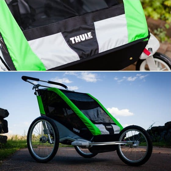 Stroller Guide: Thule Chariot Cheetah 2 Multi-sport Double Stroller 12 Daily Mom Parents Portal